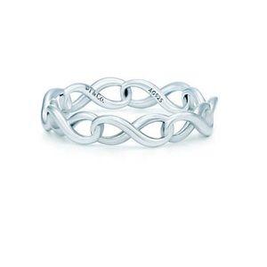 Tiffany Infinity Band Ring